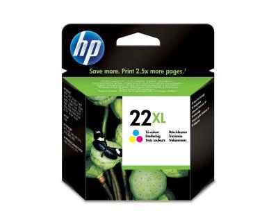 HP cartouche 22XL trois couleurs