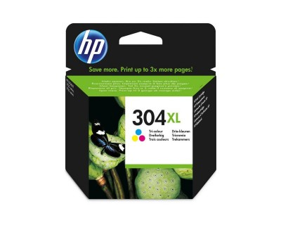 HP cartouche 304XL trois couleurs