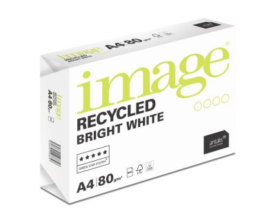 Antalis Image Recycled™ Bright white A4 80g, 500 feuilles