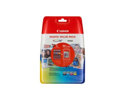 Canon CLI-526 C/M/Y/BK Photo Value Pack