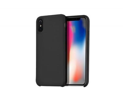 iPhone X : hoco. coque arrière noir