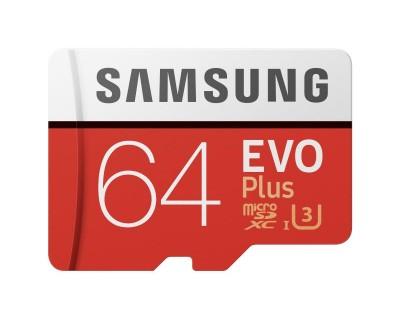 Samsung Carte microSD XC Evo Plus UHS-I U3