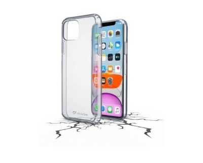 iPhone 11 : Cellularline Coque arrière rigide transparent duo